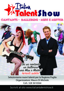 talent show Puglia